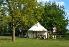 Шатёр средневекового времени Стоковая Фотография