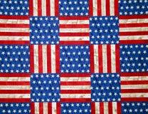 Шахматная доска государственный флаг сша Стоковая Фотография RF