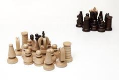 Шахматные фигуры Стоковые Фотографии RF