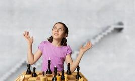 Шахматы для ухищренного разума Мультимедиа Стоковая Фотография RF