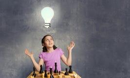 Шахматы для ухищренного разума стоковая фотография