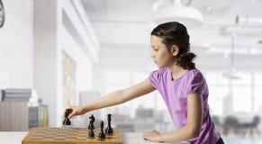 Шахматы для ухищренного разума стоковые фото