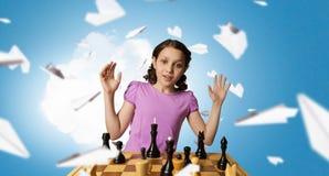 Шахматы для ухищренного разума стоковая фотография rf