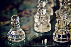 Шахмат, апертура игры Стоковые Изображения RF