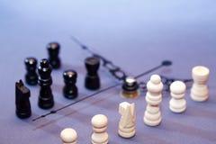 Шахмат во времени Стоковые Фото