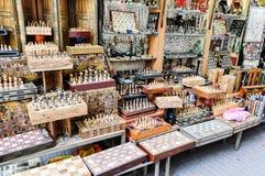 Шахмат в улицах Иерусалима Стоковые Фотографии RF