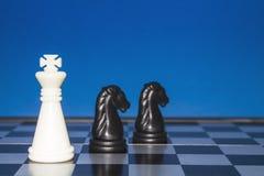 Шахмат как дело 13 Стоковое Изображение RF