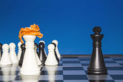 Шахмат как политика 23 Стоковое фото RF