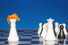 Шахмат как политика 21 Стоковые Изображения RF