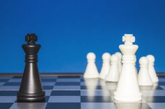 Шахмат как политика 25 Стоковые Фотографии RF