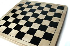 шахмат контролеров доски пустой Стоковые Фотографии RF