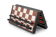 шахмат магнитный стоковое изображение rf
