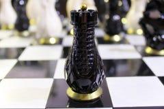 Шахмат много на доске Стоковая Фотография