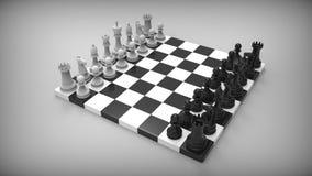 Шахмат на предпосылке Бесплатная Иллюстрация