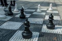 Шахмат на улице в Сараеве Стоковое Изображение