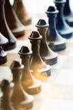 Шахмат огня Стоковая Фотография RF