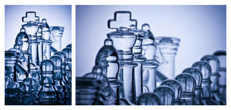 Шахмат и стратегия Стоковые Фото