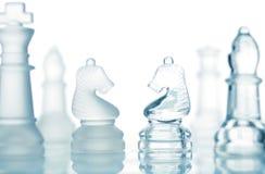 шахмат прозрачный Стоковые Изображения RF