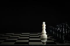 Шахмат против Стоковое Фото