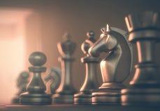 Шахмат рыцаря Стоковые Изображения RF