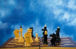 шахмат сражения Стоковая Фотография
