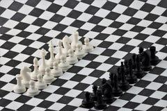Шахмат старая логически игра стратегии стоковое фото rf