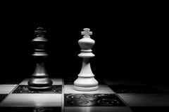 Шахмат сфотографированный на доске Стоковое Изображение RF