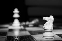 Шахмат сфотографированный на доске Стоковое фото RF