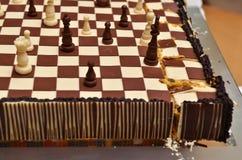 шахмат торта Стоковые Изображения RF