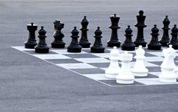Шахмат улицы стоковые фотографии rf