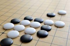 шахмат checkboard идет Стоковое Изображение