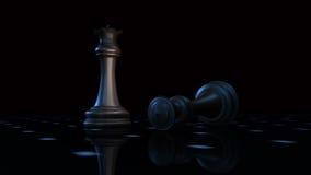 шахмат 3d Стоковая Фотография