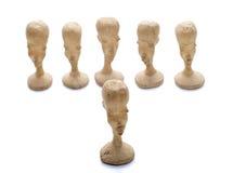 шахмат pawns уникально Стоковое Изображение