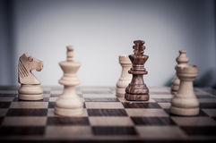 Шахмат Playin Стоковое Изображение RF