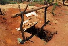 шахта Африки стоковая фотография rf