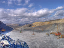 шахта бросания открытая Стоковое фото RF