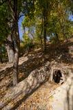 шахта входа старая Стоковое Изображение