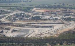 шахта извлечения открытая Стоковая Фотография