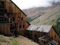 шахта истории colorado стоковая фотография rf