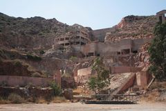 шахта металла золота Стоковая Фотография RF