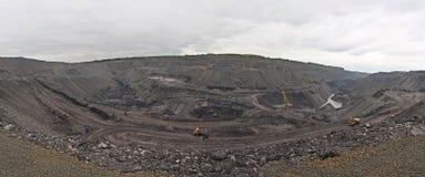 шахта открытая стоковые фотографии rf