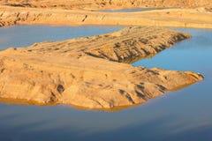 Шахта открыт-бросания доломита Стоковые Изображения