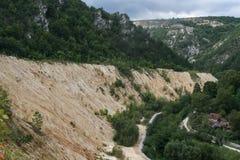 Шахта доломита Стоковая Фотография RF