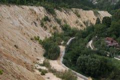 Шахта доломита Стоковое Фото