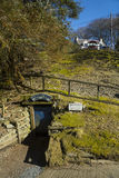 Шахта смещения Wanlockhead Lochnell, Дамфрис и Galloway, Шотландия Стоковое фото RF
