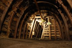 шахта Стоковое фото RF