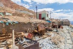 Шахта Cerro Rico в Potosi стоковые изображения rf