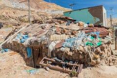 Шахта Cerro Rico в Potosi стоковые изображения