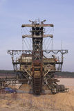 шахта gravel1 Стоковое фото RF