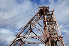 шахта headframe Стоковое Изображение RF